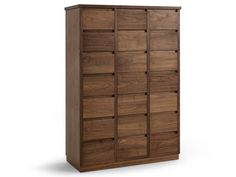 Wooden chest of drawers DIA 2009 by Riva 1920 design Terry Dwan
