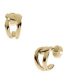 Michael Kors Love Knot Earrings, Golden.