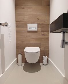 Impress Your Site visitors with These 14 Adorable Half-Bathroom Designs Small Toilet Design, Small Toilet Room, Bathroom Design Small, Bathroom Designs, Modern Bathroom Decor, Bathroom Styling, Bathroom Interior, Toilet Closet, Bad Styling