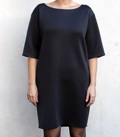 Cocoon Scuba Dress | Groovybaby....and mama