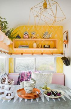 "Hey ya'll. I've been following Mandi, author of the blog Vintage Revivals , as she painstakingly restored a vintage trailer called ""The Nugg..."
