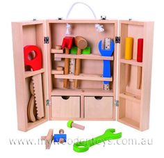 Wooden Toy Carpenters Set
