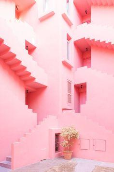 Meest prachtigste foto van Zilverblauw // La Muralla Roja