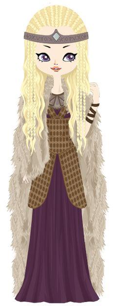 Brynhilde, the viking queen by marasop on DeviantArt