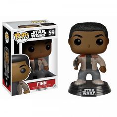 This is the Star Wars Force Awakens Finn POP Vinyl Figure that's produced by Funko. Finn looks great in his Force Awakens POP Vinyl style. Star Wars fans are literally in a frenzy these da Darth Vader Star Wars, Finn Star Wars, Tema Star Wars, Star Wars Vii, Star Wars Shop, Star Trek, Figurines D'action, Funko Pop Star Wars, Star Wars Toys