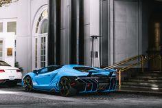 Blue Cepheus Lamborghini Centenario [6000x4000] [OC] via Classy Bro
