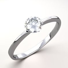 A solitaire setting consists of a plain, unadorned band with . Engagement Ring Insurance, Perfect Engagement Ring, Solitaire Engagement, Ring Ring, School Rings, Solitaire Setting, Diamond Gemstone, Diamond Rings, Rings Online
