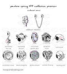 Pandora Spring 2018 collection preview