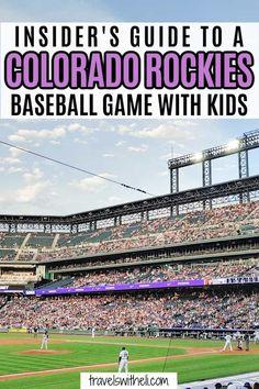 Rockies Game, Rockies Baseball, Colorado Rockies, Colorado Mountains, Travel With Kids, Family Travel, World Baseball, Baseball Games, Find People