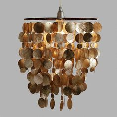 One of my favorite discoveries at WorldMarket.com: Capiz Pendant Shade