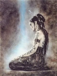 Luis Royo, one of the most popular fantasy artists of our time, invites us into a vivid world of haunting beauty, where justice is swift and transformation is inevitable. Description from pinterest.com. I searched for this on bing.com/images