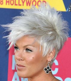 If Pink didn't do pretty much everything that I refuse to do, I'd come pretty close to idolizing her.