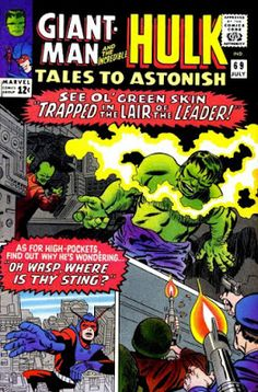 Tales to Astonish #69, when 15 page stories were the norm, and a cover could look like a page of story.