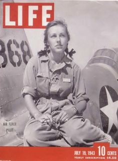 Shirley Slade, WASP Trainee - Life Magazine Feature Story, 1943.