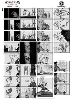 Assassin's Creed Liberation Storyboard by drazebot.deviantart.com on @deviantART