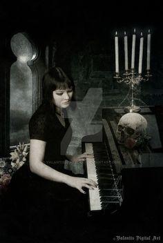 Moonlight Sonata by ValantisDigitalArt on DeviantArt