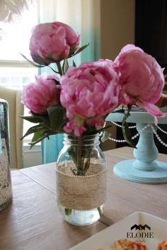 Shabby Chic Baby Shower Party Ideas | Photo 11 of 39 | Catch My Party