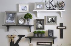 Wall Gallery of Photos & Shelves | Kirkland's
