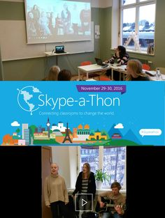 Sing Around the World during Skype-a-thon 2016