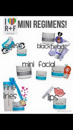Nedd help with dry hands? Dry lips? Puffy eyes? Mini regimens are AWESOME. #rodanandfields