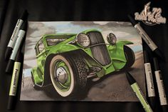 Hot Rod with ProMarker