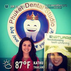 LED Whitening Natural Plus @Phuket Dental studio