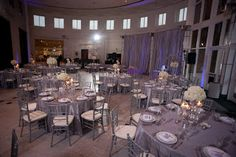 Orlando Museum Of Art Reception Featuring Our Silver Chiavari Chairs Brewer Photography