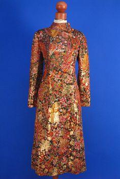 Evening Coat, Christian Dior: 1960's, lamé.