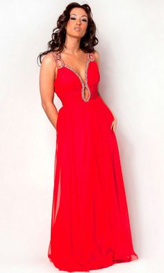 Ruched Sequin Embellished Ruched Open Back Floor Length V Neck Natural Red  Sexy Evening Dress Straps 81eb81ac7