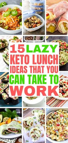 15 Easy Keto Lunch Ideas Keto lunch ideas that you can take to work. Add these recipes to your lazy keto meal plan. 15 Easy Keto Lunch Ideas Keto lunch ideas that you can take to work. Add these recipes to your lazy keto meal plan. Ketogenic Diet Meal Plan, Keto Diet Plan, Low Carb Diet, Diet Menu, Easy Keto Meal Plan, Low Carb Meal Plan, Ketosis Diet, Atkins Diet, Keto Foods