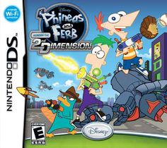 Disney Nintendo DS - Phineas and Ferb: Across the 2nd Dimension