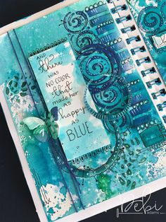 """As I leave today for the art journal retreat, """"Stencil Girl & Friends"""" in Paducah, Kentucky, I couldn't think of any project more fitting to share with you. A little while ba…"""