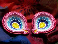 decorative diya and thali set tutorial christmas ornament fun 2