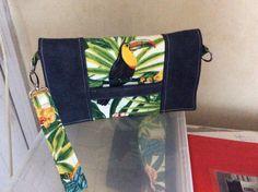 Pochette Cachôtin toucan cousue par Annie - Patron gratuit Sacôtin