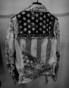 americana, you'd never imagine a canadian flag on a cool jacket..