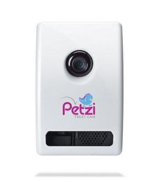 Petzi Treat Cam: Wi-Fi Pet Camera and Treat Dispenser