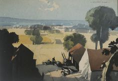 Rowland Hilder - Wealden view 750