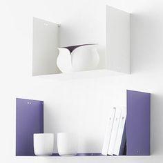 45 cm Geometric Shelf - White - alt_image_three