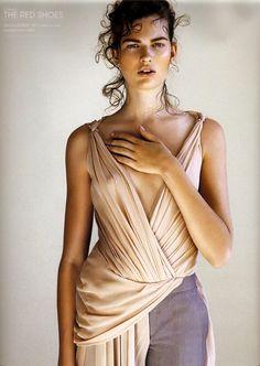 Wear:                    Victor & Rolf Magazine:             Avantgarde Photographer:      Philip Riches Model:                  Bette Franke