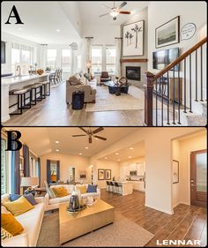 Which FAMILY ROOM is more APPEALING to you?! Purchase Agreement, Closing Costs, Eagle Logo, Beautiful Dining Rooms, Insurance Agency, Marketing Communications, New Homes For Sale, Model Homes