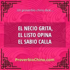 21 Proverbios Chinos, NO, 21 grandes Enseñanzas. - Taringa!