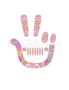 Jeep Decal Lilly Pulitzer Inspired Jeep Decal Preppy Jeep