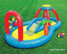 Bể bơi phao có cầu trượt INTEX 57449