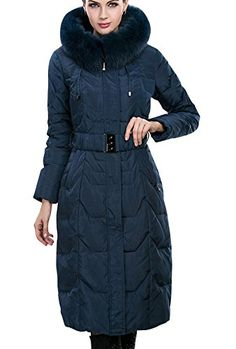 Tidecloth Women's Winter Slim Fit Hooded Fur Keen Length Down Coat  http://www.yearofstyle.com/tidecloth-womens-winter-slim-fit-hooded-fur-keen-length-down-coat/