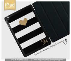 View all of our designs at ( http://www.etsy.com/shop/simplymonogram ) Show off your unique style with a personalized monogram design iPad