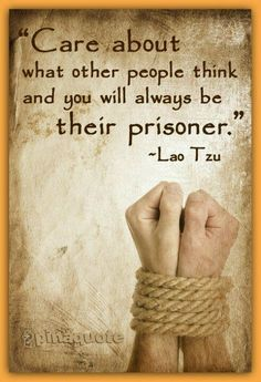 They are already imprisoned by you, so just remain imprisoned by your conscience only.