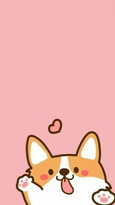0 cute wallpapers dog with bone iphone wallpaper pink background Corgi Wallpaper, Dog Wallpaper Iphone, Tier Wallpaper, Kawaii Wallpaper, Animal Wallpaper, Cellphone Wallpaper, Seagrass Wallpaper, Paintable Wallpaper, Colorful Wallpaper