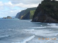 Day Hike during 2011 Hawaii retreat.  This is at the bottom of Pololu lookout