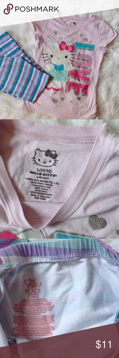 Girl's leggings and t shirt set Good condition, very cute Children's Place Matching Sets