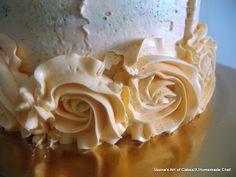 Veena's Art of Cakes: Rose Swirl Cake